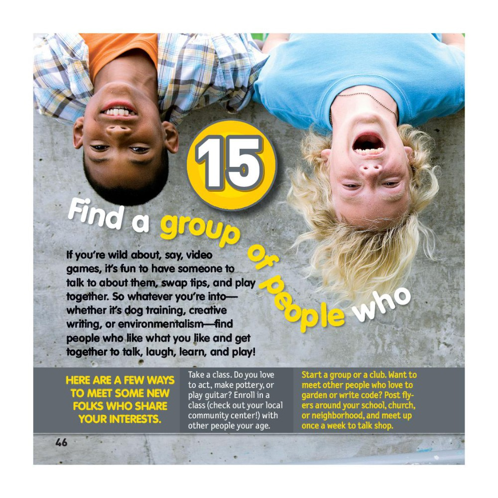 100 Things to Make You Happy (National Geographic Kids) Book Review and  Ratings by Kids - Lisa M. Gerry