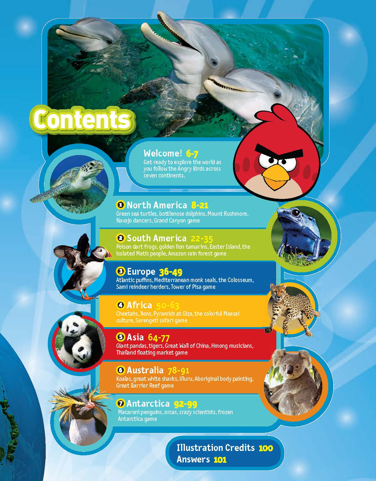 angry birds explore the world packed with animals fun facts
