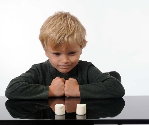 Photo of a kid waiting practicing habit building skills