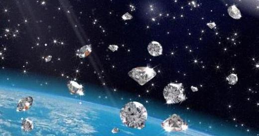 La presión extrema hace que lluevan diamantes en Neptuno