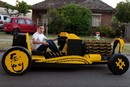 Air-Powered Lego Car Cruises Down The Streets Of Melbourne