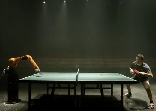 vs machine ping pong